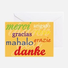Thank You card Greeting Cards (Pk of 10)