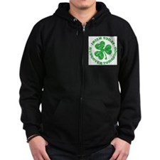 Tims St. Paddy's Day Shirt Zip Hoodie