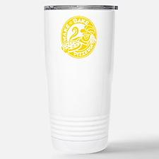 Wake & Bake Pizzeria (dark) Travel Mug