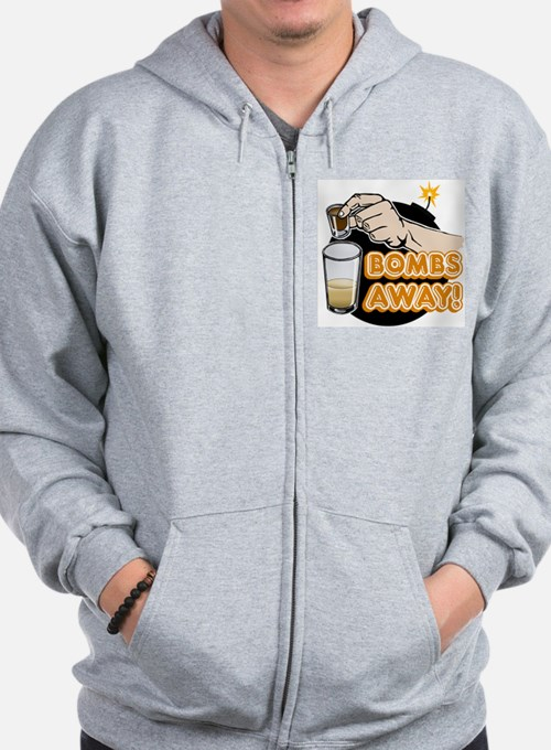 Bombs Away! Zip Hoody