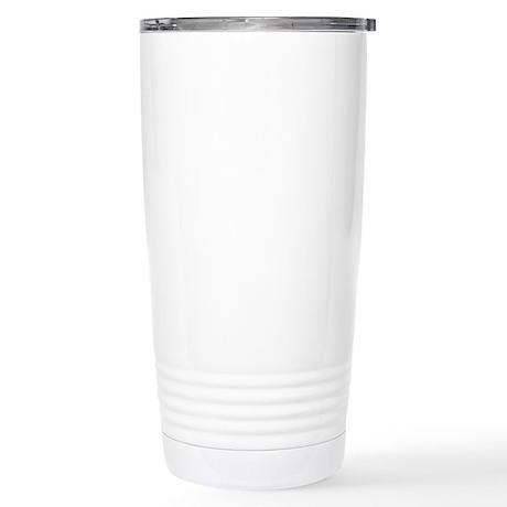 Fuhgeddaboudit. (dark) Stainless Steel Travel Mug