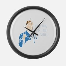 You Are One Sexy Lady (dark) Large Wall Clock