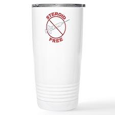 Steroid Free (dark) Travel Mug