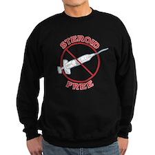 Steroid Free (dark) Sweatshirt