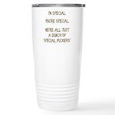 We're all Special Light Shirt Travel Mug