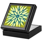 Funky Chrysanthemum Keepsake Box