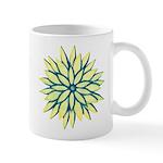 Funky Chrysanthemum Ceramic Coffee Mug