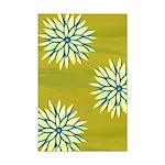 Funky Chrysanthemum Mini Poster Print