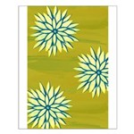 Funky Chrysanthemum Small Poster
