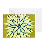 Funky Chrysanthemum Greeting Cards (Pk of 10)