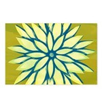 Funky Chrysanthemum Postcards (Package of 8)