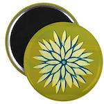 "Funky Chrysanthemum 2.25"" Magnet (10 pack)"