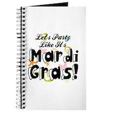 'Mardi Gras Party' Journal