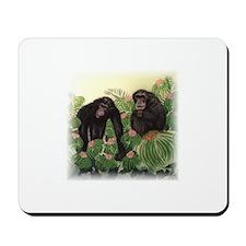 Pair of Chimps Mousepad