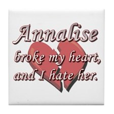 Annalise broke my heart and I hate her Tile Coaste