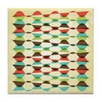 Sandy Vogue Retro Tile Drink Coaster