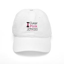 I Wear Pink For Warriors Baseball Cap