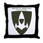 Aerocarene Throw Pillow