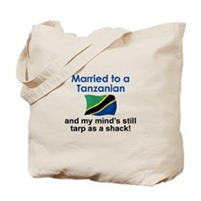 Married to a Tanzanian Tote Bag