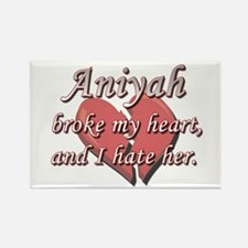 Aniyah broke my heart and I hate her Rectangle Mag