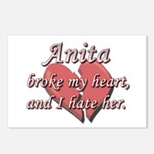 Anita broke my heart and I hate her Postcards (Pac