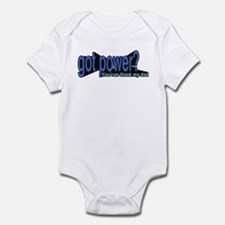 Got Power? for boys Infant Bodysuit