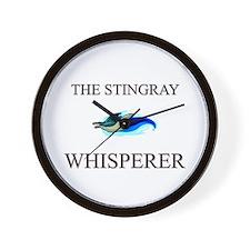 The Stingray Whisperer Wall Clock