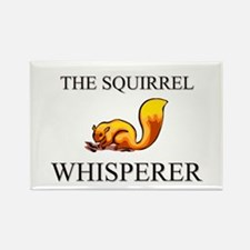 The Squirrel Whisperer Rectangle Magnet