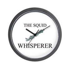 The Squid Whisperer Wall Clock