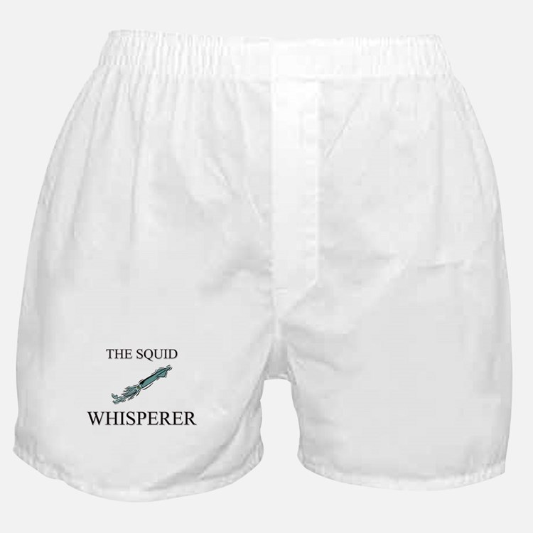 The Squid Whisperer Boxer Shorts