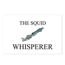 The Squid Whisperer Postcards (Package of 8)