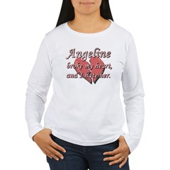 Angeline broke my heart and I hate her T-Shirt