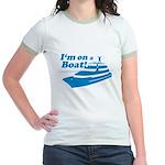 I'm On A Boat Jr. Ringer T-Shirt
