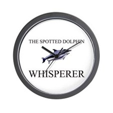 The Spotted Dolphin Whisperer Wall Clock