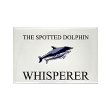 The Spotted Dolphin Whisperer Rectangle Magnet