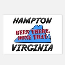 hampton virginia - been there, done that Postcards