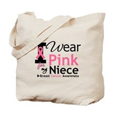 I Wear Pink For My Niece Tote Bag