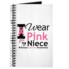 I Wear Pink For My Niece Journal