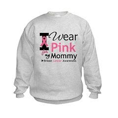 I Wear Pink Mommy Sweatshirt