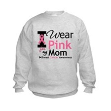 I Wear Pink Mom Sweatshirt