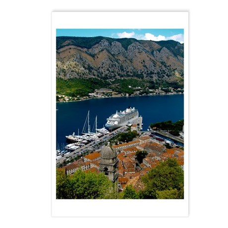 Kotor-Montenegro 02 Postcards (Package of 8)