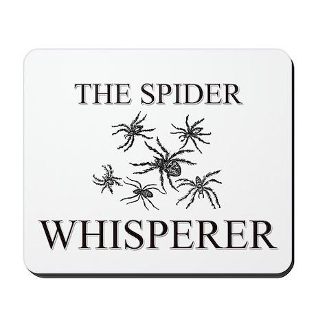 The Spider Whisperer Mousepad