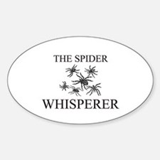 The Spider Whisperer Oval Decal