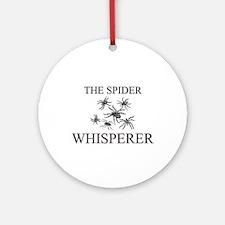 The Spider Whisperer Ornament (Round)