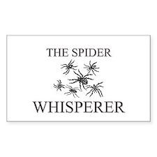 The Spider Whisperer Rectangle Decal