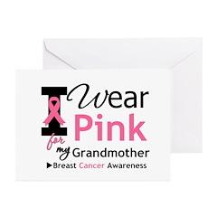 IWearPink Grandmother Greeting Cards (Pk of 20)