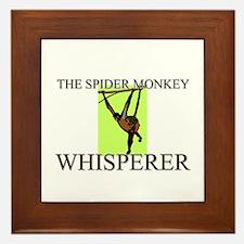 The Spider Monkey Whisperer Framed Tile
