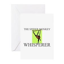 The Spider Monkey Whisperer Greeting Cards (Pk of