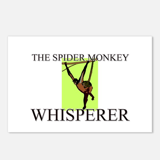 The Spider Monkey Whisperer Postcards (Package of