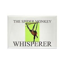 The Spider Monkey Whisperer Rectangle Magnet